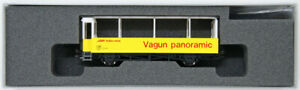 Kato 5253 Rhaetian Railway Open Panorama Passenger Car B2097 (N scale)