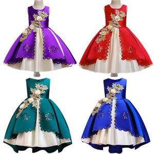 Vestidos Elegantes De Fiesta Vestido De Princesa Ropa De Niña y Para Niñas 2021