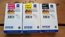 Epson T7013 T7014 T7011 Ink Cartridge for Epson WP-40XX Size XXL New