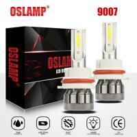 1500W LED Headlight 9007 HB5 Hi/Lo Bulbs 6000K for Ford F-150 92-98 Ranger 93-11