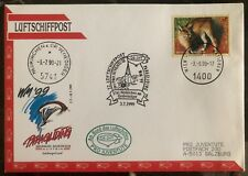 1999 Vienna Austria Airmail Paragliding Flight Cover to Salzburg