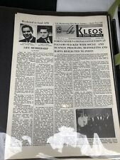 The Kleos Alpha Phi Delta Fraternity Newsletter Lot 50 pcs Crafting collecting
