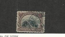 United States, Postage Stamp, #298 Used, 1901 Ship Canal Nice Stamp