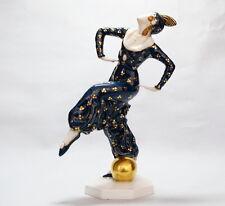 ART DECO  Figur TÄNZERIN  DANCER  C. Holzer Defanti  um 1926