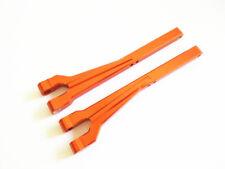 Aluminum F / R Upper Arm For 1/8 HPI SAVAGE 21 25 SS 3.5 4.6 FLUX X XL Orange