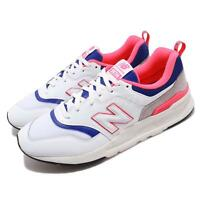 New Balance CM997HAJ D White Blue Pink Men Running Shoes Sneakers CM997HAJD
