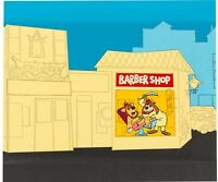 VERY RARE Banana Splits production cel and background animation Theme Park Art