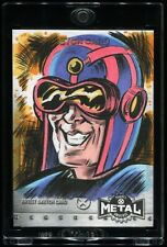 2021 Marvel X-Men Metal Universe SKETCH Card MENTALLO by Jason Crosby 1/1