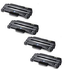 4 Toner für ML1910 ML2525W SCX4623 F FW SF650 ML2540R ersetzt Samsung MLT-D1052S