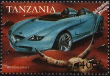 1998 HYUNDAI EURO I Concept Car Mint Automobile Stamp (1999 Tanzania)
