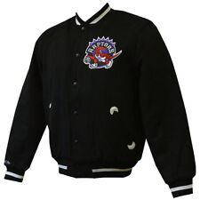Toronto Raptors Mitchell & Ness In The Stands Varsity Jacket L
