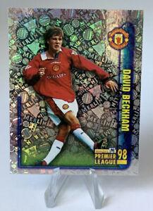 Merlin Premier League 1998 Refractor David Beckham