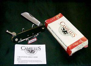 Camillus 695 Sailors Knife Marlin Spike 1980's Rosette Rivets & Orig. Packaging