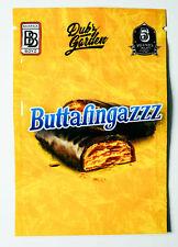 NEW BUTTAFINGAZZZ BACKPACK BOYZ RUNTZ RESEALABLE ZIP LOCK MYLAR 3.5G-7G BAGS