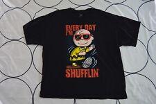 🔥Genuine CHARLIE BROWN Every Day I'm Shufflin Peanuts Adult T-Shirt TEE 2XL XXL