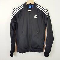 ADIDAS Womens Size 6 or US 2 Black Superstar Track Jacket