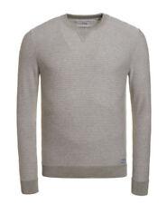 Superdry Grey Crew Neck Hoodies & Sweatshirts for Men