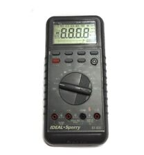 PROFESSIONAL  IDEAL-SPERRY DUAL DISPLAY DIGITAL MULTIMETER WITH AUTO OFF #61-630