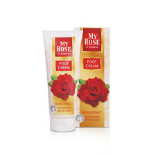 My Rose Foot Cream with Rose oil Deodorizing and relaxing 75ml/2.64oz