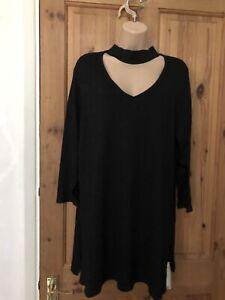 Tu Women's Ladies Top Tunic Pullover Sparkle Size Uk 20