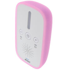 Tasche f. Philips Avent SCD501 Babyphone Schutz Hülle TPU Gummi Case Bumper Pink