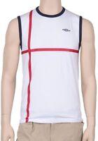 Umbro Tankshirt weiß Gr.. M - L, Achselshirt, Shirt, T-Shirt ärmellos