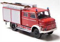H0 BREKINA Mercedes Benz MB LAF 1113 TLF 16 Gerätekoffer Löschfahrzeug # 47161