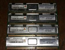 FB DIMM 4 x 2GB 8 GB Apple  Server Speicher HYS72T256420HFD-3S Arbeitsspeicher