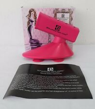 Brilliance New York Pink Flat Iron/Styler Heat Resistant Salon Quality Holder