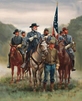 American Civil War Oil painting printed Art Printed on canvas L2693