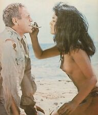STEVE MCQUEEN AS PAPILLON WITH RATNA ASSAN EROTIC PHOTO