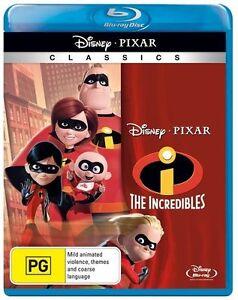 The Incredibles (Region B Blu-ray) *Free Postage*