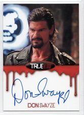 True Blood Premiere Edition Autograph Card Don Swayze/Gus B