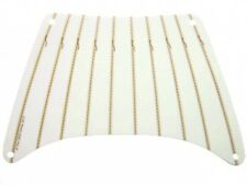 LEGO - Cloth Sail Rectangle with Dark Tan Stitching Pattern - White