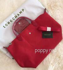 Authentic Longchamp neo bag poppy red Medium
