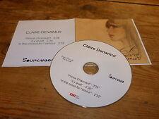 CLAIRE DENAMUR !!!!SAMPLER  !! RARE CD PROMO !!