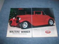 "1928 Chevrolet Landau Coupe Street Rod Article ""Walters' Winner"""