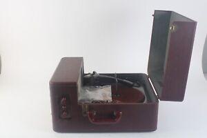 Vintage WEBSTER CHICAGO Modèle 362 Portable Disque Lecteur