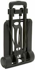 Design Go Luggage Travel Trolley – Design Go Luggage Kart –Black 77lbs capacity