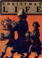 1922 Life December Maxfield Parrish original Christmas issue -