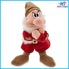 "Disney Snow White's Grumpy 13"" Plush Doll brand new"