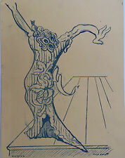 """ERNST  MAX  """"ELECTRA"""" LITHOGRAPHIE 1939"""
