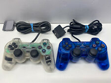 Lot OEM Sony Playstation PS1 PS2 Clear Controller SCPH-1200/10010 CLEAN