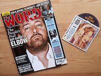 The WORD NOV 2008 +CD ELBOW JOY DIVISION JOHN PEEL ENO & BYRNE RICK WRIGHT RIP