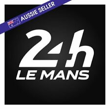 24 Hour Le Mans Sticker LeMans Race Racing Decal Wall Garage GT Sports Classic