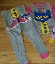Girls ~ PETE The CAT ~ Pajama Set Sz 4T NWT