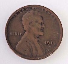 1911 S Lincoln Wheat Cent Semi-Key