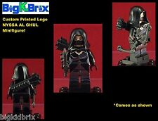 NYSSA AL GHUL DC Custom Printed LEGO Minifigure w/ Quiver & Bow NO DECALS USED!