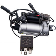 Air Suspension Pump Compressor fits VW Touareg Audi Porsche Cayenne 7L8616007E