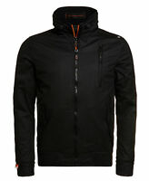New Mens Superdry Moody Norse Bomber Black